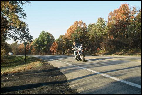 Rider on Arkansas 23